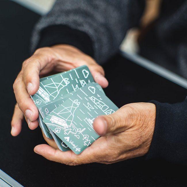 Cartes à jouer VanLife MTL