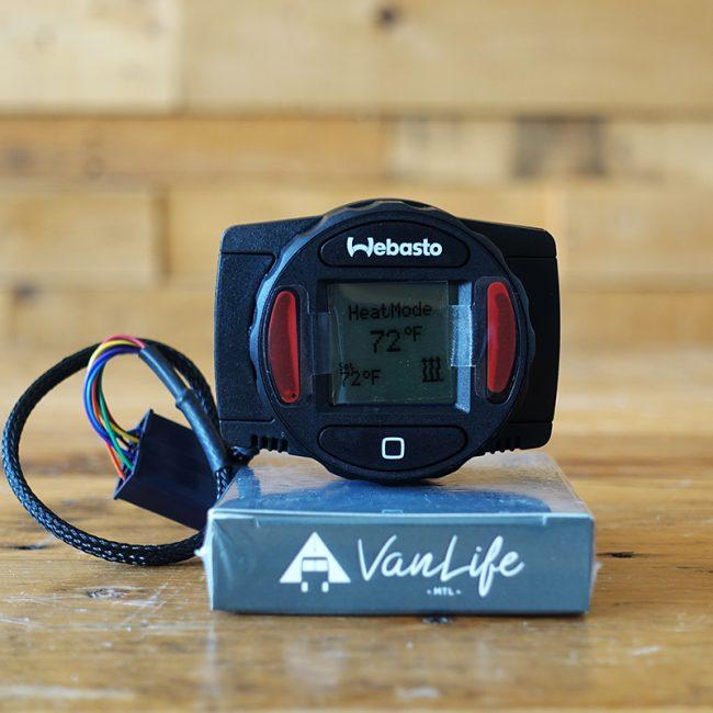 Webasto - contrôleur de température Smarttemp 2.0 - avec Harnais